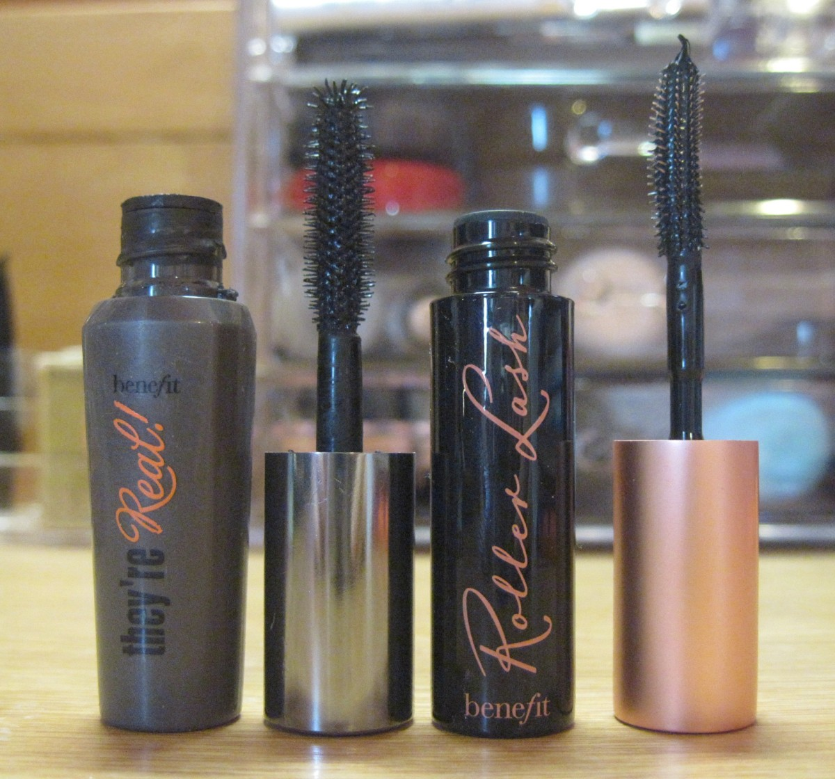 Benefit Cosmetics: They're Real vs. Roller Lash